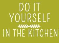 DIY Food / From bread to sauces, herb mixes to butter. Recipes on how to create food for your own kitchen