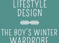 Boys Winter Wardrobe - Lifestyle Design / Inspiration for a winter wardrobe for my two young boys