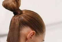 2015 Fashion Week Hairstyles / Just in case you missed it, here are some of the wonderful, wild, wacky, and whatever hairstyles from this year's Fashion Week, Fall 2015.