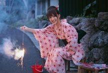 Yukata Fashion / Modern yukata styles and trends