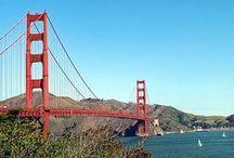 Voyage USA San Francisco / Qui n'a jamais rêvé de vivre à #SanFrancisco ? Quelques photos pour s'en persuader et s'inspirer :)  Surnommée City by the bay, SF est une ville d'Avant Garde et  berceau du mouvement de la Beat Generation. #Californie, Ouest Américain et Golden Gate Bridge