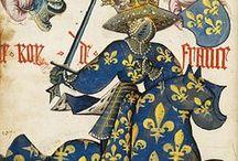Moyen-âge / Découvrez le meilleur du Moyen âge trouvé au cours de nos escapades : Iconographies, gisants, statues et enluminures. Village médieval
