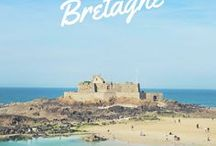 Voyager en France   La Bretagne / Voyager en #France et Découvrez la belle région #Bretagne. Des paysages à couper le souffle et une ambiance incomparable.