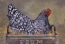 Chickens / by Bridget Burgess Thorne