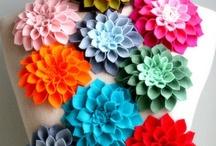 Flowers & Stars & Pompoms...Oh My! / by Bridget Burgess Thorne