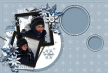 layout d'hiver/winter layout / by Micheline Dubé