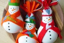 Christmas Tree Ornaments / by Bridget Burgess Thorne
