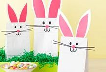 Easter Treats + Crafts / We have some egg-ceptionally great recipe and craft ideas for you to take a peep at!