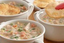 Soups / Souper-duper recipes that warm on the coldest days.