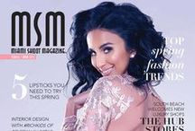 MSM Cover Features / Miami Shoot Magazine's covers & interviews!
