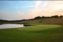 The International / HOME OF THE 2014 VOLVO WORLD MATCH PLAY -   This is undoubtedly one of the finest downland courses in Europe. Fast, undulating fairways allow you to chase the ball into position. The course is punctuated with exciting risk and reward tee shots over water that really get the heart pumping. The International recently played host to Regional Open Qualifying and also tested a field of budding hopefuls as the venue for Stage 1 of European Tour Qualifying School in September.