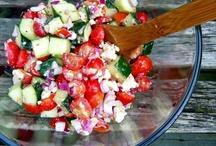 Cookbook:  Salads / by Angela A Smook-Marusak