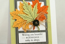 Fall/Thanksgiving - Card/Tags / by Nancy Finlay
