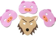 Childrens Story Telling & Song Masks