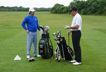 Thomas Aiken & Bill Longmuir golf clinic
