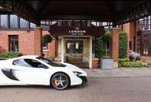 McLaren London test-drive days  / at LGC