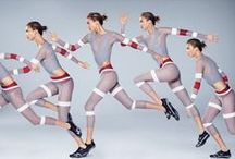 Activewear / Campaign imagery and lookbooks for men's and women's health and fitness.