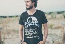 Eco-Fashion for Men / Organic Cotton T-shirts for men Bichobichejo