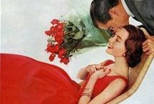Valentine nostalgia / vintage Valentine cards, ads, photos,decor and more!
