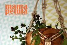 Mama Petula - Le Pavillon des Canaux - Plant styling - Paris. / Projet de décoration végétale par Mama Petula - LE PAVILLON DES CANAUX -  2015