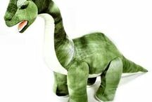 Dinosaur Soft Toys / A range of our Dinosaur soft toys available at www.bluefrogtoys.co.uk