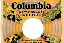 Records/history-Columbia label / Columbia Records history  and records. Please refer to my other music -record label-sheet music boards. Enjoy!