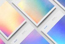 Iridescent / An inspirational board focusing on the iridescent textures from BDA London.