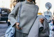 Autumn Winter Street Style / A collection of inspiring womenswear street style for the autumn winter season from BDA London.