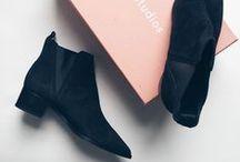 Shoes / A board focusing on footwear from BDA London.