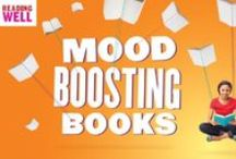 Mood-Boosting Books / The Reading Well Mood-Boosting Books scheme is the Reading Agency's national promotion of uplifting titles, including novels, poetry and non-fiction. These books are recommended by readers and reading groups around the country.