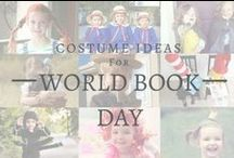 World Book Day Costume Ideas / Stuck for a costume for World Book Day 2018 on 01 March? Check out these fantastic ideas!