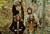 Black Sabbath / Ozzy Osbourne, Tony Iommi and Geezer Butler.