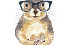 plaatjes dieren/kinderboekillustraties