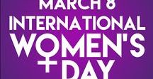 International Women's Day 2017 / International Women's Day (March 8) is a global day celebrating the social, economic, cultural and political achievements of women. The day also marks a call to action for accelerating gender equality.  We've chosen a selection of books to celebrate International Women's Day - they're all available to borrow for free From Darlington Libraries. www.internationalwomensday.com