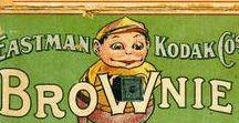 Brownie-Cameras / vintage Eastman Kodak cameras and ads