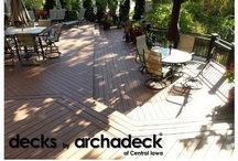 Spaces...We Designed & Built / This board contains just a few of the outdoor living spaces  designed and built by Archadeck of Central Iowa.  Most of these will link back to our central-iowa.archadeck.com web site where a more robust photo gallery can be found.  Others will link to our various social media sites (Facebook/ArchadeckCentralIowa, YouTube/ArchadeckCentralIowa, etc.) where projects are also featured.  Enjoy!