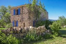 Home is where the ❤ is / French stone cottages, renovated barnyards, farmhouses..