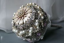 Brooch bouquets & wedding accessories / Designs by my daughter at Elsa Rose Boutique