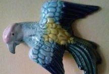 oiseaux nature peinture objets