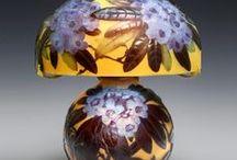 lampes et vases galle