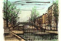 le canal saint martin a paris