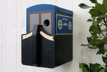 Bird Boxes / This is what we're best known for! Our bird boxes are designed and hand-made by us and have been seen in national magazines and newspapers plus on British national TV.