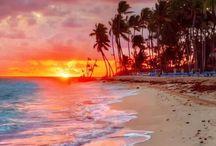 Beaches/sea and coastlines