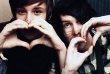 dan && phil / people who make me happy every day:)