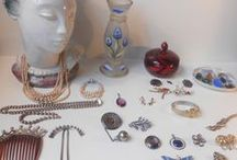 Vintage danish jewelry / Vintage danish/scandinavian silver, gold, pearls and custom jewelry from the 20th century.
