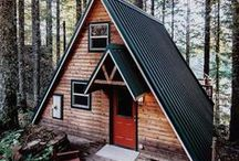 Cabin Dreams / Our favorite cabins... when can we move in?!