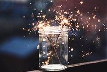 TIME FOR CONFETTI / Life is a party – so you better celebrate it with the right party equipment, table decoration and of course lots of glitter, confetti and sparklers.