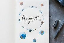 BULLET JOURNAL / A little notebook, filled up with tons of creativity: I admire people who have these amazing lettering and sketching skills and who create those fabulous masterpieces. Maybe I will start my own bullet journal one day. For this moment, my collection of inspiration has to be enough.