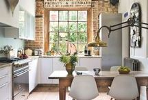 Beautiful Homes / Although our chairs work best outside, we can't get enough of delicious interiors.
