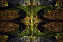 Fractal Art / Fractal creations I've made, using Apophysis [7X].